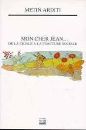 Mon Cher Jean - Couverture - Format classique
