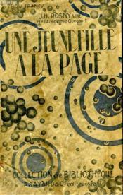 Une Jeune Fille A La Page. Collection De Bibliotheque N° 21. - Couverture - Format classique