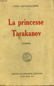 La Princesse Tarakanov. - Couverture - Format classique