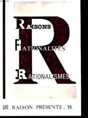 Rairons Rationalites Rationalismes - Couverture - Format classique