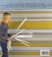100 techniques de décoration murale - 4ème de couverture - Format classique