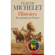 Histoires Des Paysans De France - Couverture - Format classique