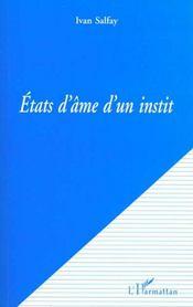 Etats D'Ame D'Un Instit - Intérieur - Format classique