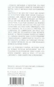 Le Perroquet Perfide - 4ème de couverture - Format classique