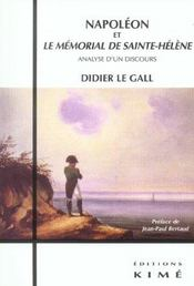 Napoleon Et Le Memorial De Sainte Helene - Intérieur - Format classique