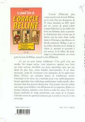 Grand Livre De L'Oracle Belline - 4ème de couverture - Format classique