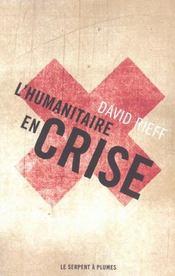 L'humanitaire en crise - Intérieur - Format classique