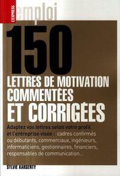 150 Lettres Motiv Comment Corr - Intérieur - Format classique