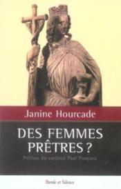 Des Femmes Pretres - Couverture - Format classique