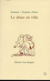 Diner En Ville (Le) - Couverture - Format classique