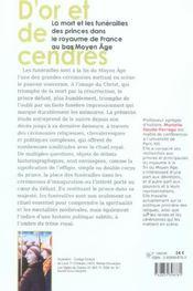 D'Or Et De Cendres - 4ème de couverture - Format classique