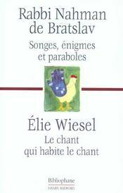 Songes Visions Enigmes Et Paraboles ; Le Chant Qui Habite Le Chant - Intérieur - Format classique