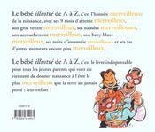 Le Bebe Illustre De A A Z - 4ème de couverture - Format classique