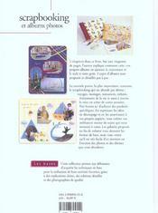 Scrapbooking Et Albums Photos-Les Bases - 4ème de couverture - Format classique