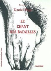 Chant Des Batailles (Le) - Couverture - Format classique