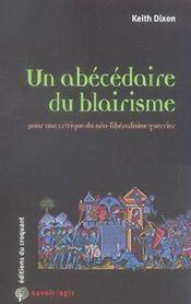 Un abecedaire du blairisme - Intérieur - Format classique