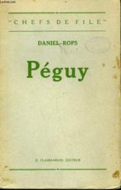 Peguy. - Couverture - Format classique