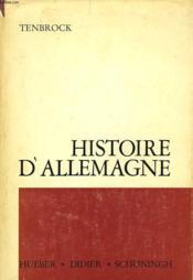 Histoire D'Allemagne - Couverture - Format classique