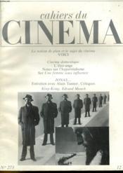Cahiers Du Cinema N°273 - Couverture - Format classique