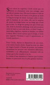 L'Amant De La Ligne 11 - 4ème de couverture - Format classique