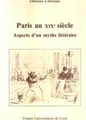 Paris Au Xixe Siecle - Couverture - Format classique