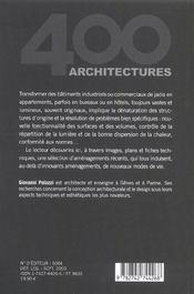Lofts - 4ème de couverture - Format classique