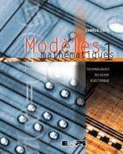 Modeles Mathematique 1 - Couverture - Format classique