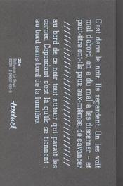 Bords du gouffre - 4ème de couverture - Format classique