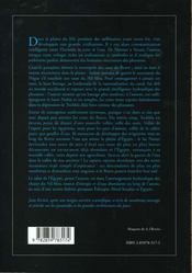 Le nil l'espoir et la colere - 4ème de couverture - Format classique