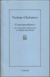 Correspondance Avec Alexandre Soljenitsyne Etnadejda Mandelstam - Couverture - Format classique