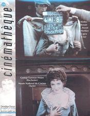 Revue cinémathèque t.19 (édition 2001) - Intérieur - Format classique