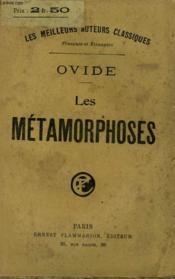 Les Metamorphoses. - Couverture - Format classique