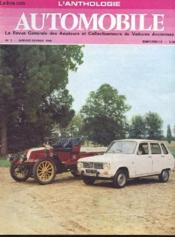 L'Anthologie De L'Automobile N°3 - Couverture - Format classique