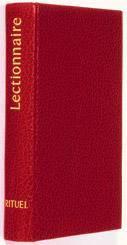 Lectionnaire pour les sacrements et autres célébrations - Couverture - Format classique