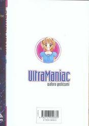 Ultra maniac t.2 - 4ème de couverture - Format classique
