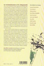 Reconnaissance et citoyenneté ; au carrefour de l'éthique et du politique - 4ème de couverture - Format classique