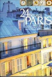 24 heures a paris - Couverture - Format classique