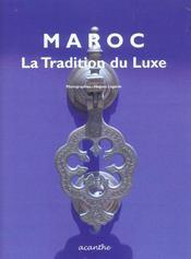 Maroc, la tradition du luxe - Intérieur - Format classique
