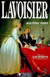 Antoine laurent de lavoisier - Couverture - Format classique
