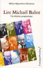 Lire michaël balint - Intérieur - Format classique