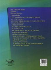 À vous de jouer ; superhits ; claviers - 4ème de couverture - Format classique