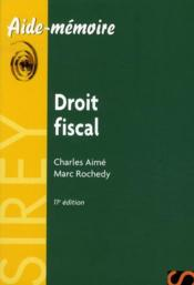 Droit fiscal (11e edition) – Charles Aime – ACHETER OCCASION – 24/05/2010