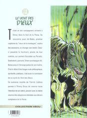 Le vent des dieux t.16 ; le vieux de la montagne - 4ème de couverture - Format classique