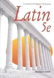 Latin 5eme - Couverture - Format classique