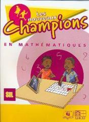 Nouveaux champions en maths eleve sil - Couverture - Format classique