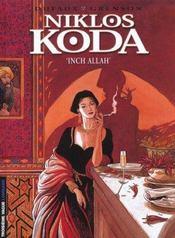 Niklos Koda t.3 ; inch'allah - Intérieur - Format classique