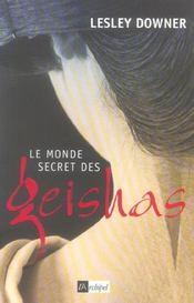 Le Monde Secret Des Geishas - Intérieur - Format classique