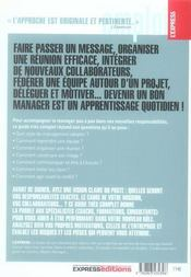 Le guide complet du nouveau manager - 4ème de couverture - Format classique
