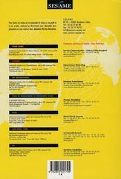Sesame annales concours 2007 - 4ème de couverture - Format classique