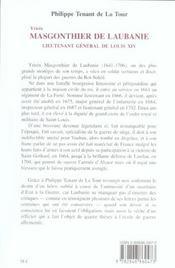 Yrieix masgonthier de laubanie - 4ème de couverture - Format classique